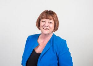 Debra Cottrell smiling