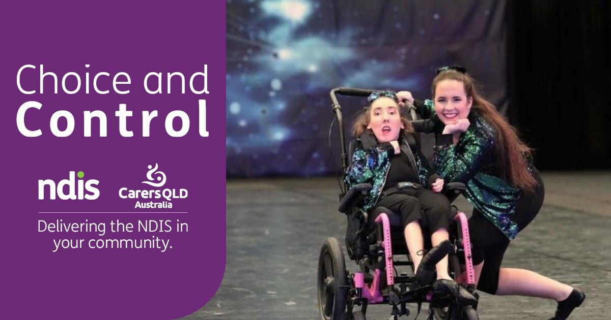 Bella Bisne and her best friend Bri (seated) dance with All Abilities Australia.